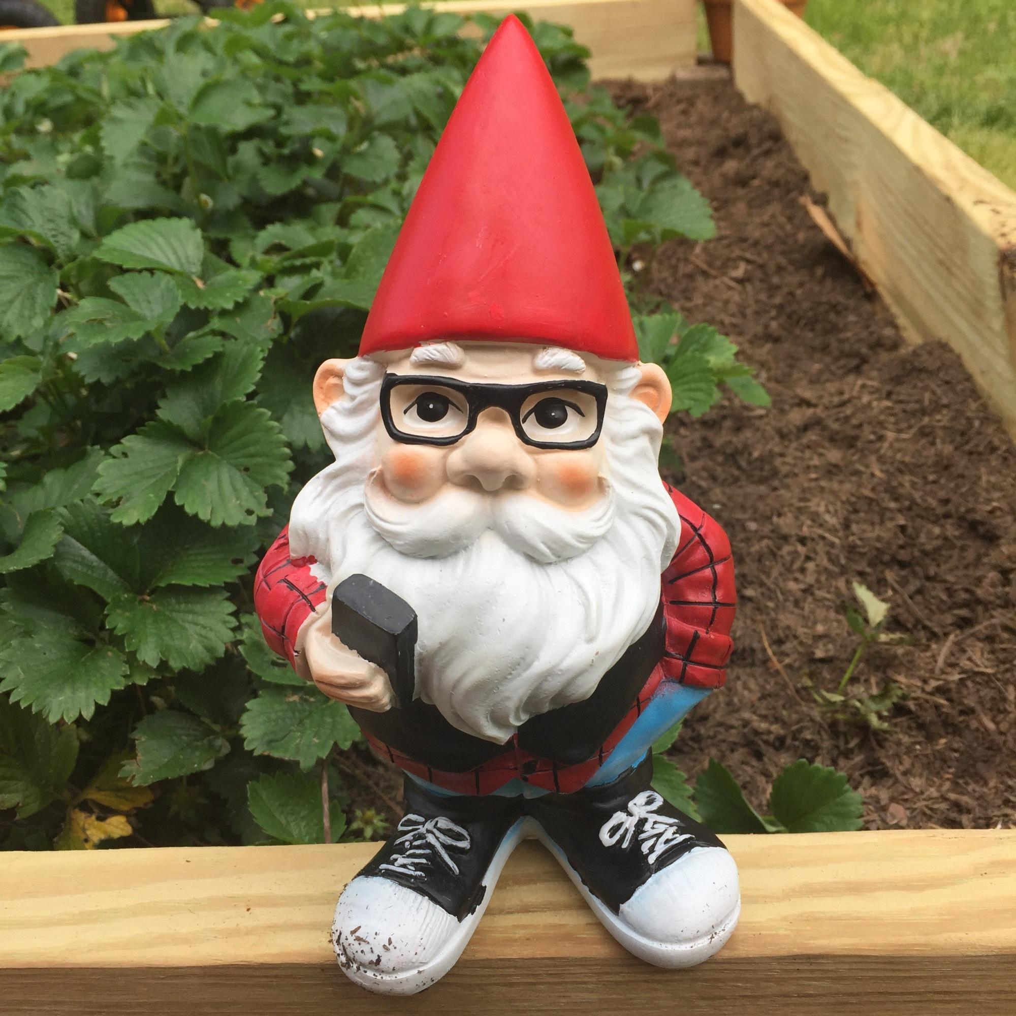 Garden Gnome Lesbian Georgia garden